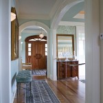Entrance arched doorways custom woodwork