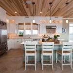 Bright beach style kitchen