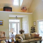 Gathering space: living room