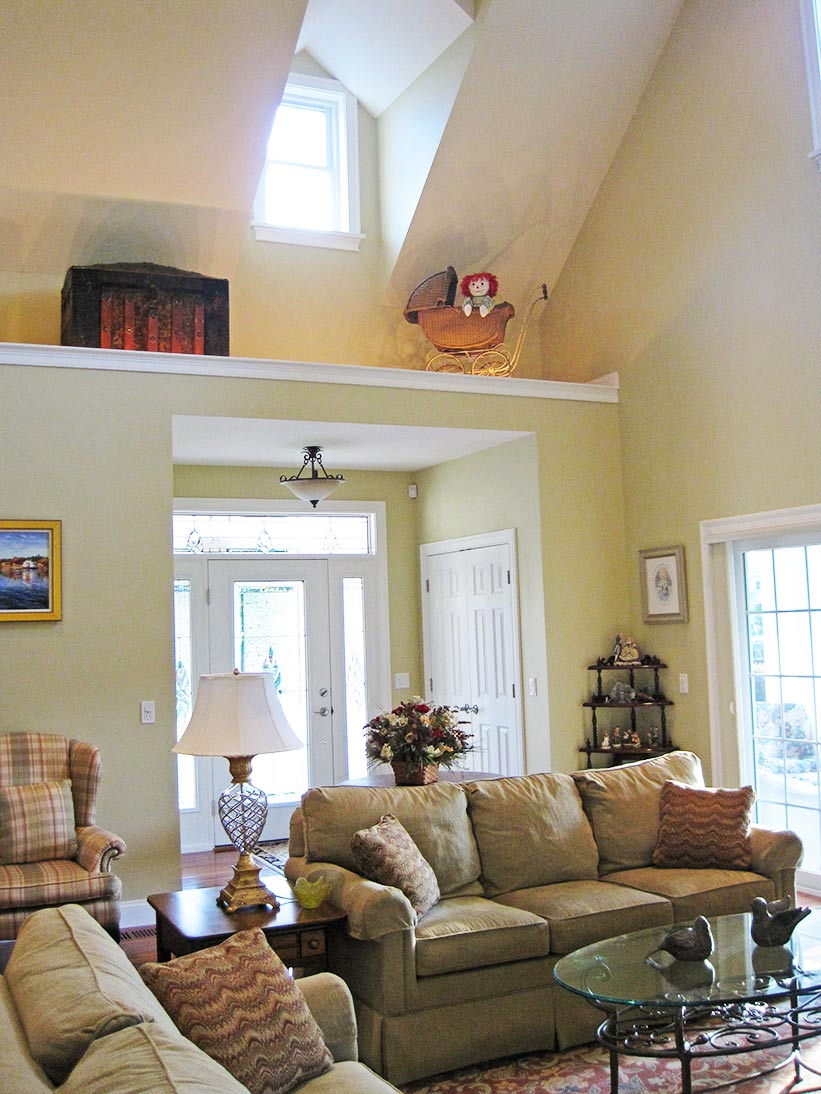 Cathedral Ceiling Home Plans Best Of Two Story House Ideas: Salt Pond View: Gathering Spaces