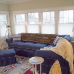 open coastal living room nautical decor