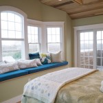 master bedroom ocean view windows and bay window
