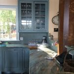 blue marble countertop
